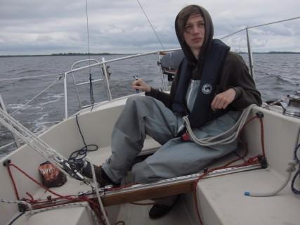 Snipeserien, äntligen tre båtar ute