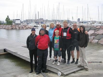 SS Ägir seglare på Snipe FM